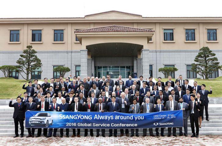 SsangYong: Παγκόσμιο Συνέδριο After Sales