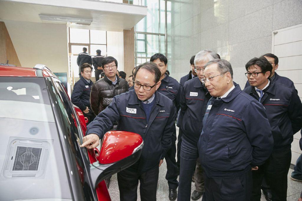 Νέα τεχνολογία αφής από τη SsangYong