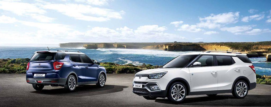 To SsangYong XLV ιδανικό για car-sharing