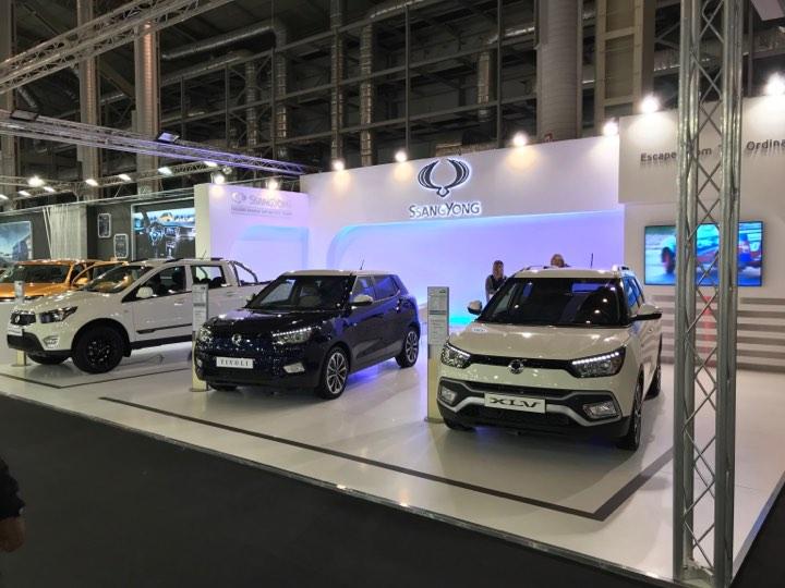 Η Automotivo με τη SsangYong στην «Αυτοκίνηση Fisikon 2017»