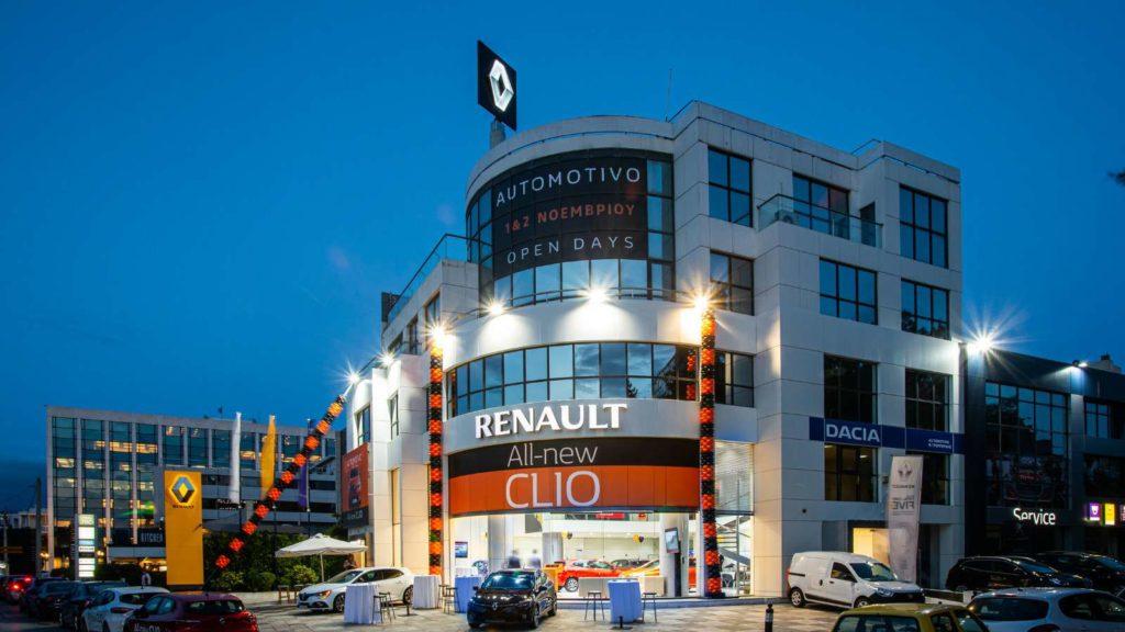 Tα επίσημα εγκαίνια της νέας, πολυτελούς, κάθετης μονάδας Renault Dacia Automotivo