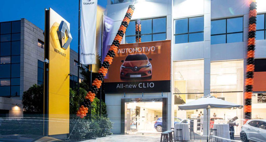 εγκαίνια Renault Dacia Automotivo